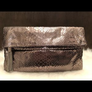 Banana Republic Metallic Clutch